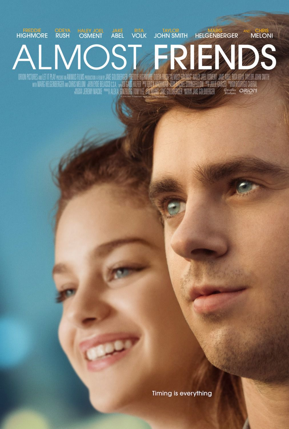 Almost Friends - Freddie Highmore - Odeya Rush - Haley Joel Osment