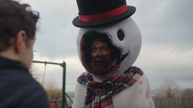 Anna and the Apocalypse - zombie snowman