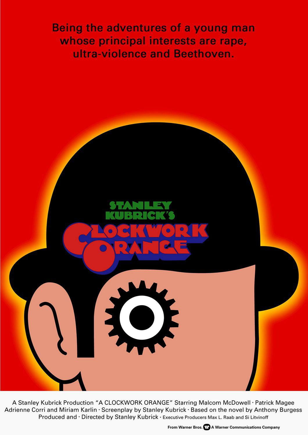 Arancia meccanica  - A Clockwork Orange - poster