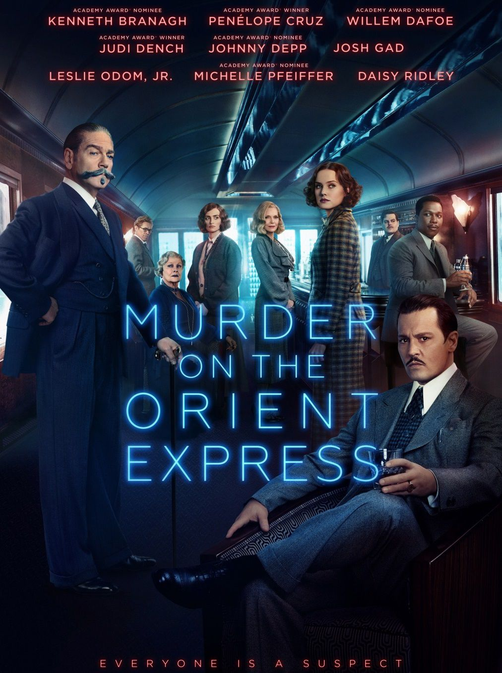 Assassinio sull'Orient Express - Murder on the Orient Express (Film Remake 2017) - poster
