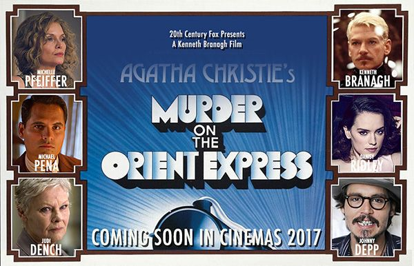 Assassinio sull'Orient Express - Murder on the Orient Express (Film Remake 2017)