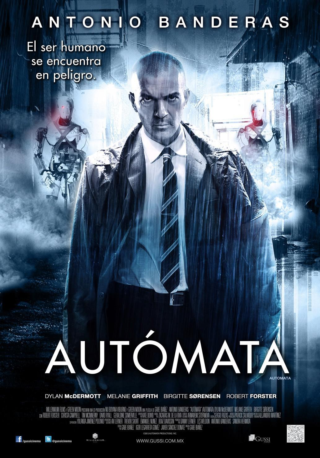 Automata - scifi film - your time is coming to an end ours is now beginning - Antonio Banderas