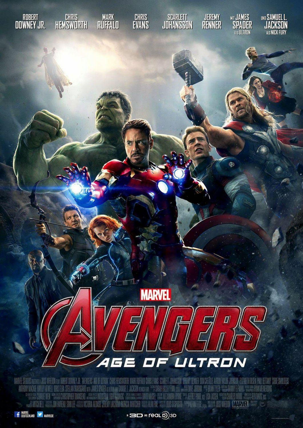 Avengers 2 - Age of Ultron . poster