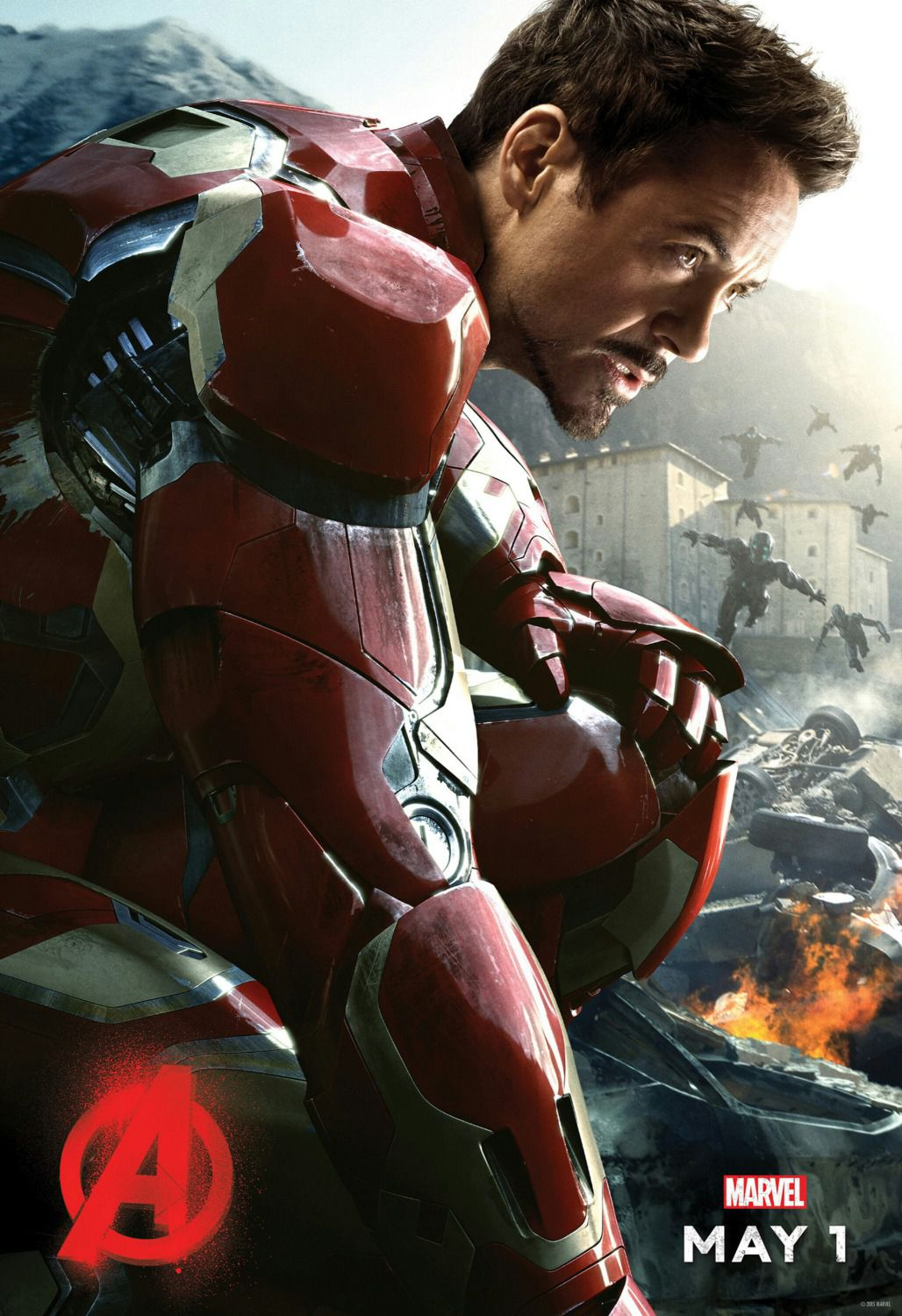 Avengers 2 - Age of Ultron . poster - Ironman