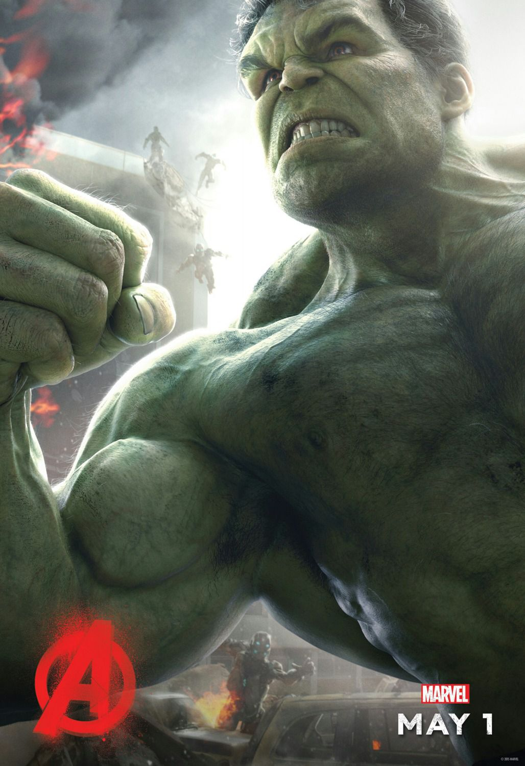 Avengers 2 - Age of Ultron . poster - Hulk
