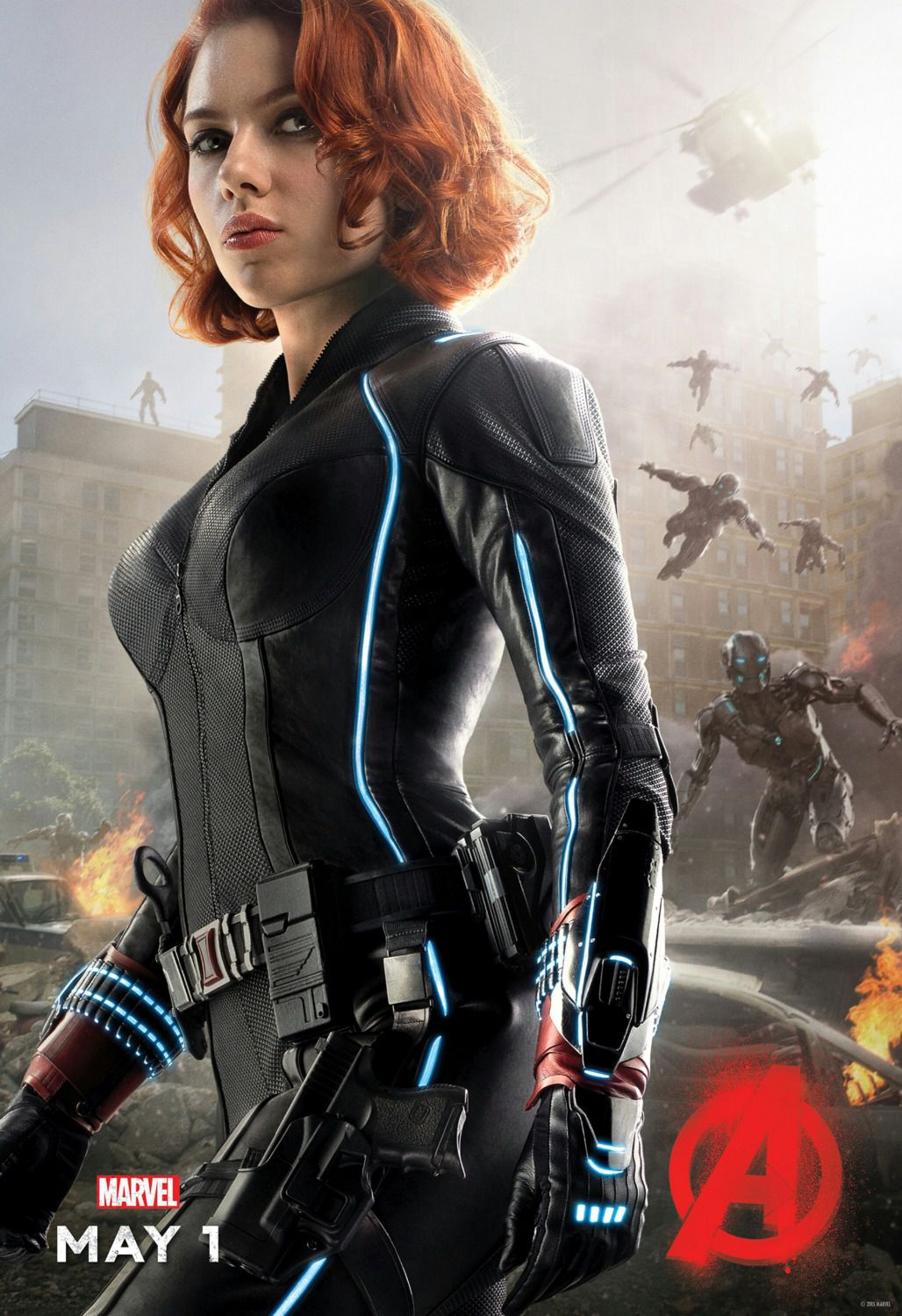 Avengers 2 - Age of Ultron . poster - Black Widow