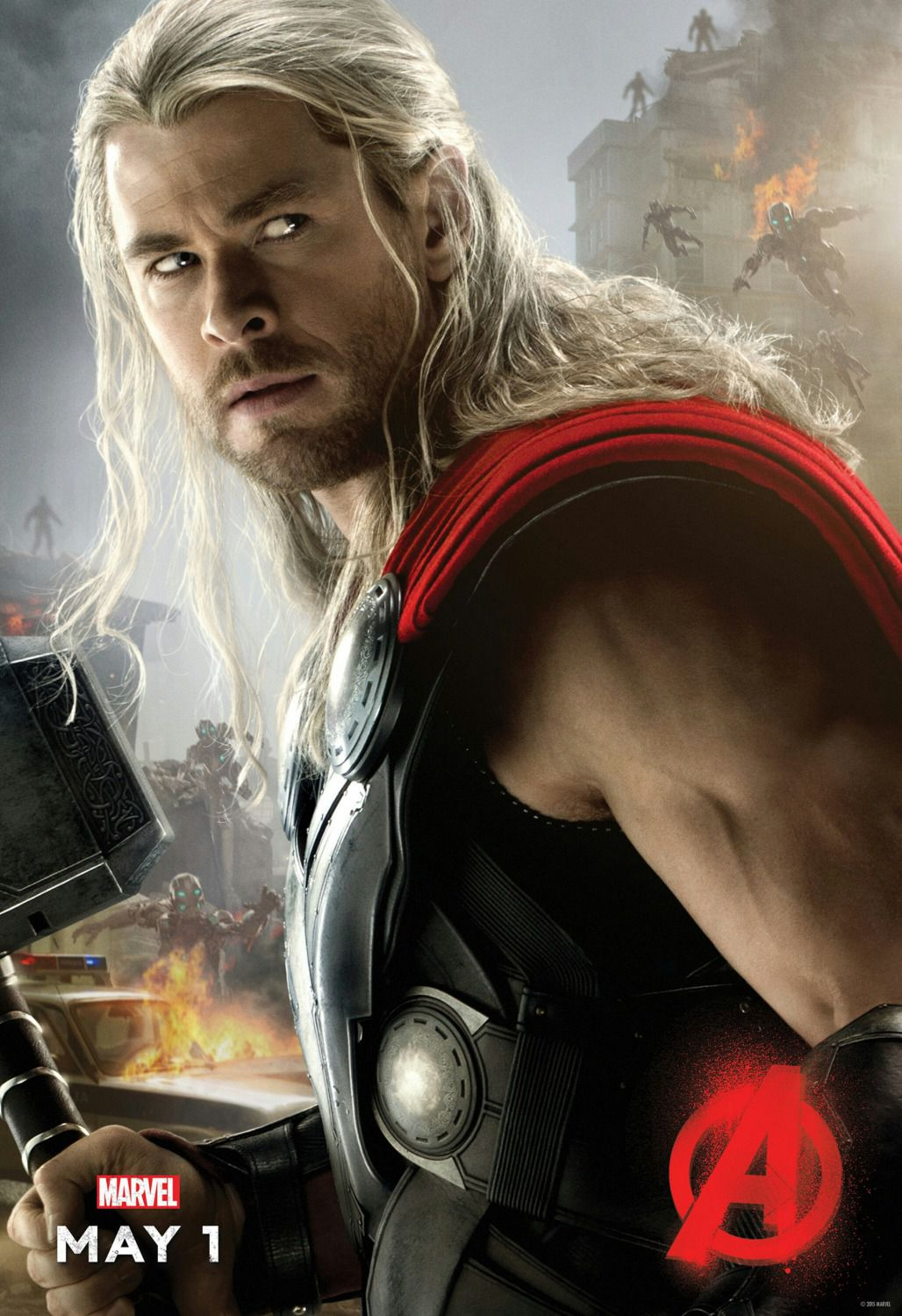 Avengers 2 - Age of Ultron . poster - Thor