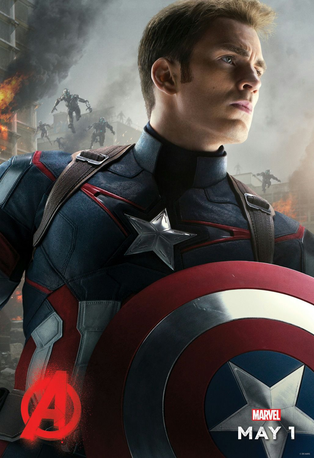 Avengers 2 - Age of Ultron . poster - Captain America