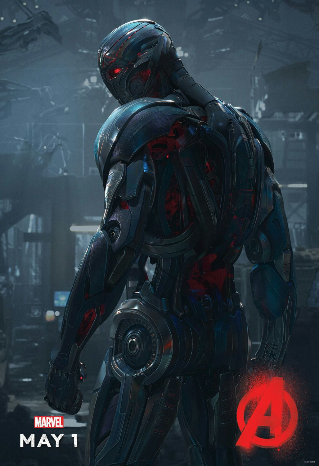 Avengers 2 - Age of Ultron . poster - Ultron