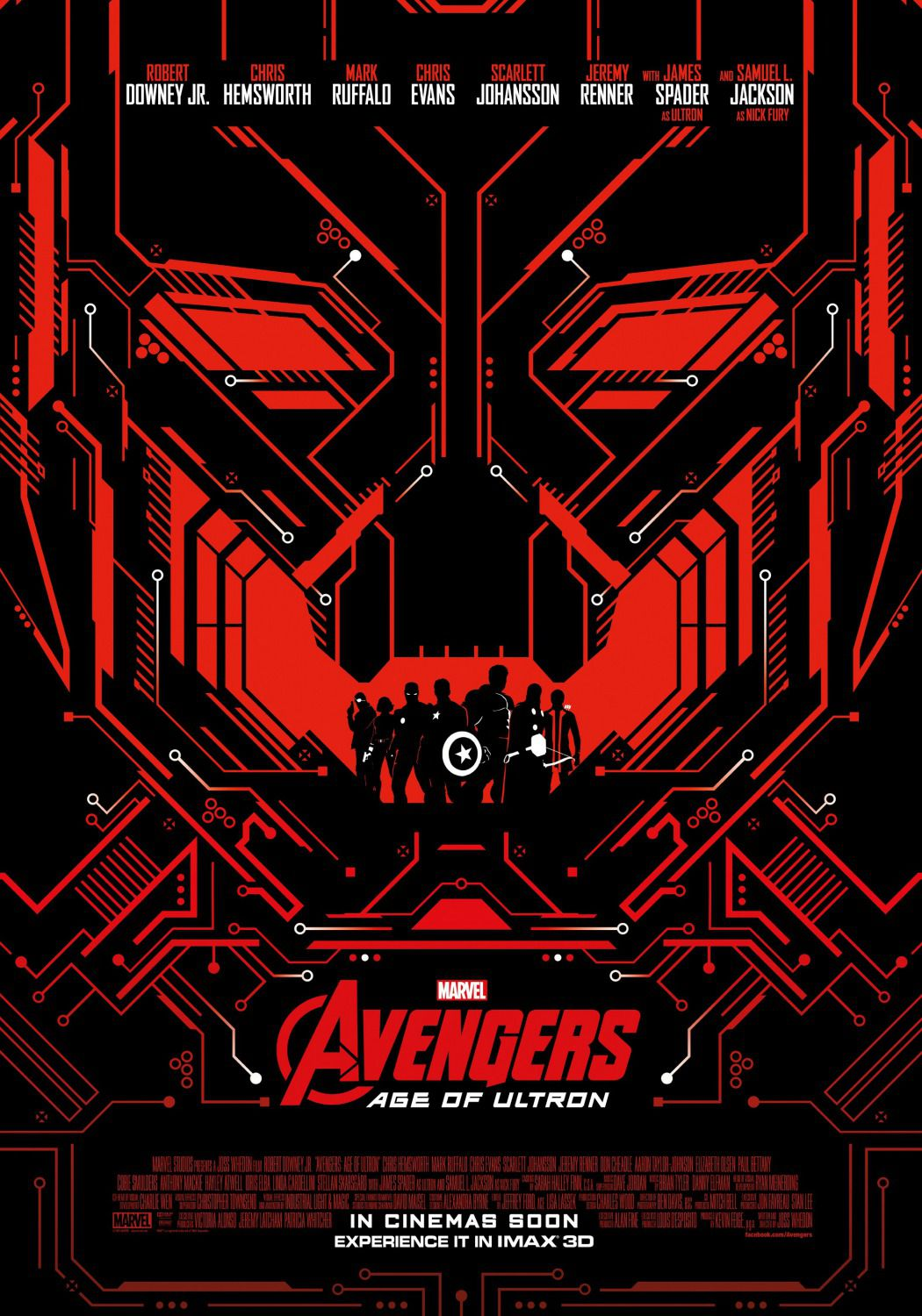 Avengers 2 - Age of Ultron . poster logo Ultron