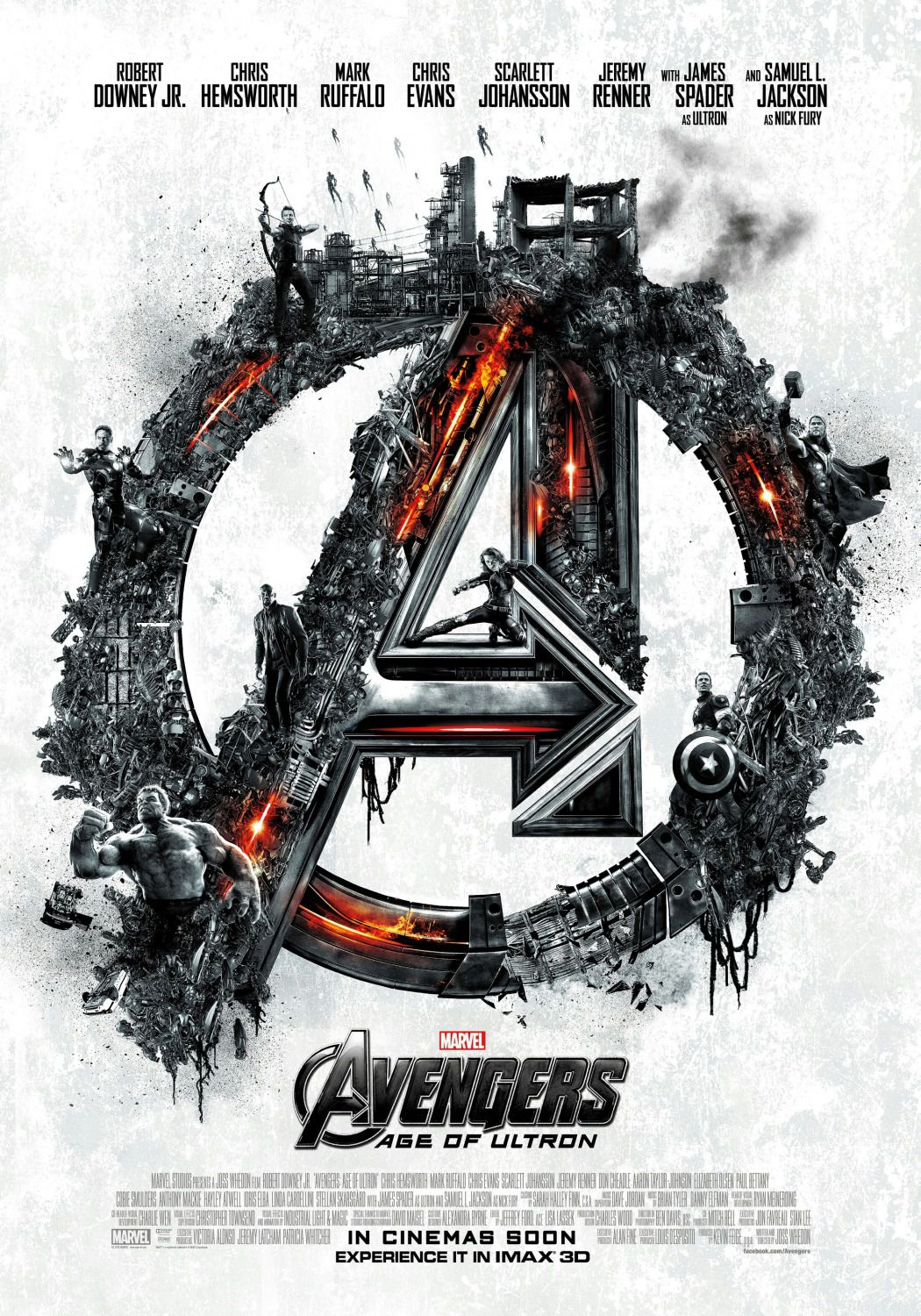Avengers 2 - Age of Ultron . poster logo