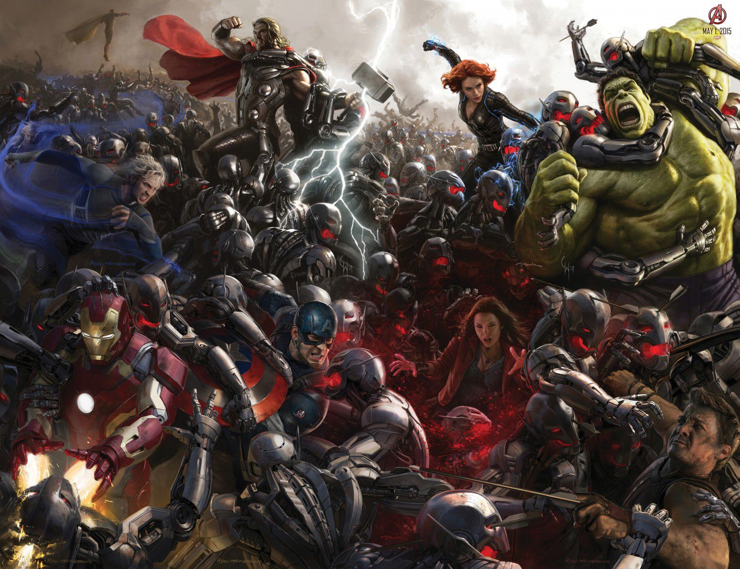 Avengers 2 - Age of Ultron - characters - all superheroes