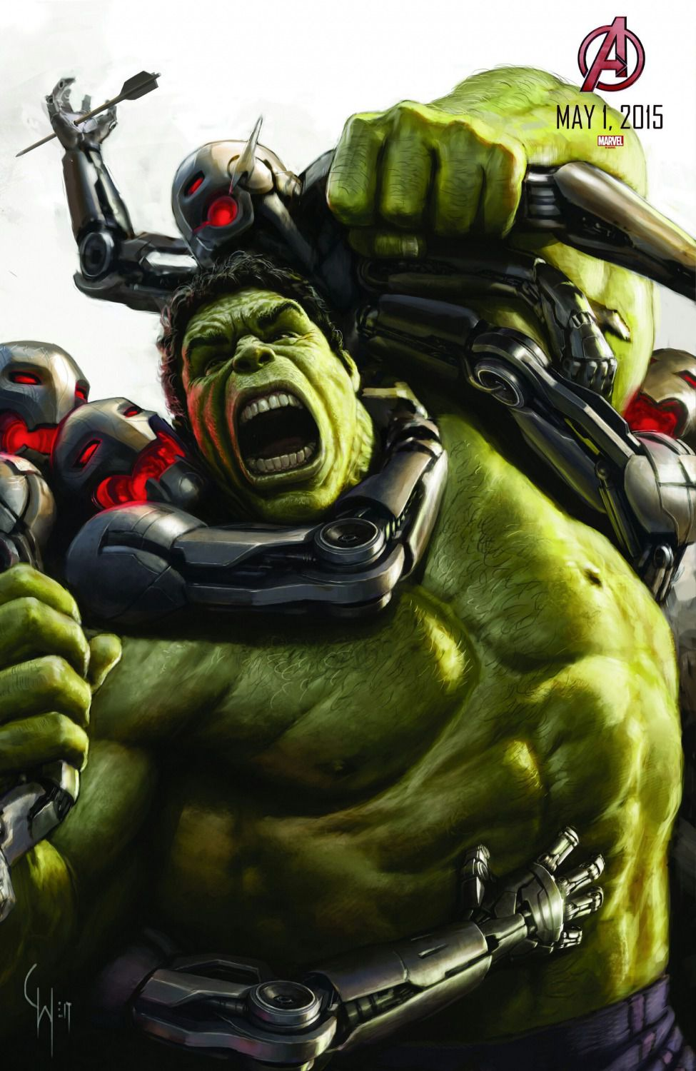 Film - Avengers 2 - Age of Ultron - set poster for multiscreen computer - save all images