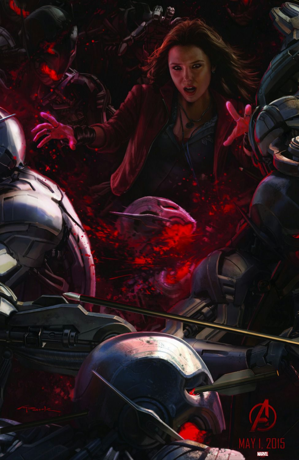 Avengers 2 - Age of Ultron . poster battle