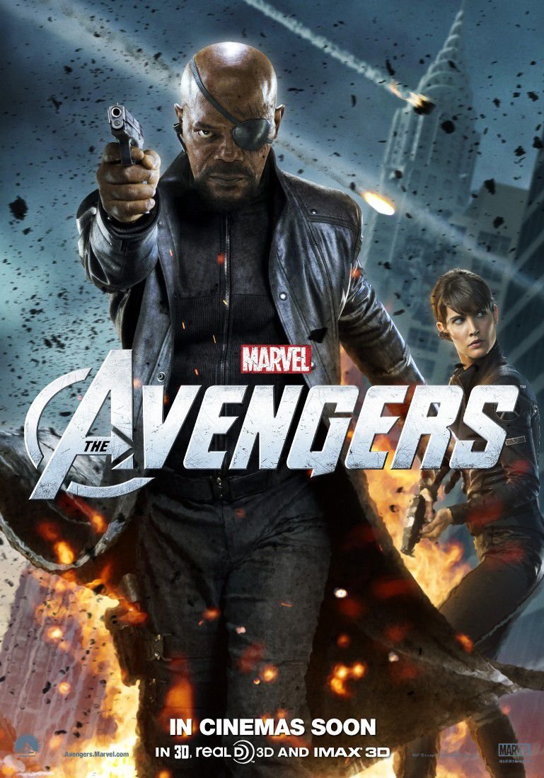 Film Avengers - Nick Fury - the Boss - il Capo