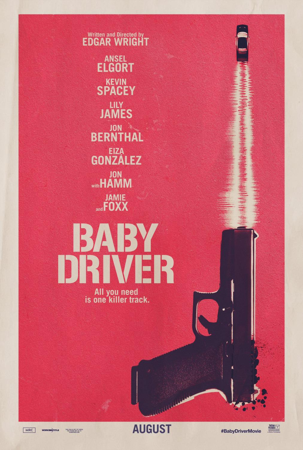 Baby Driver - film poster