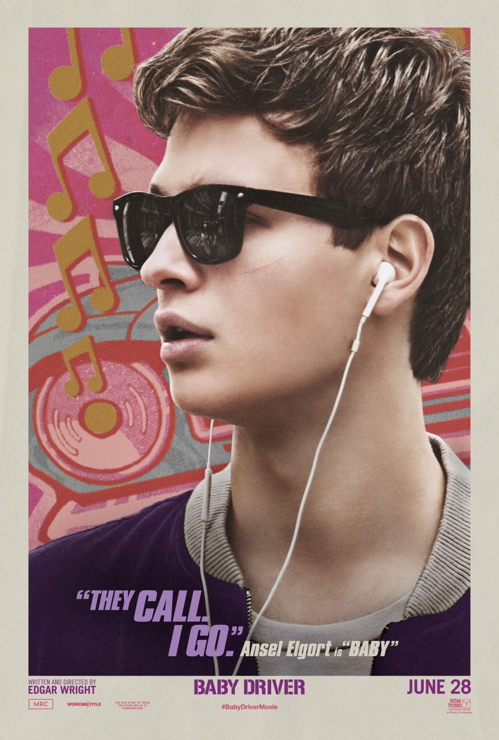 Baby Driver - Ansel Elgort is Baby