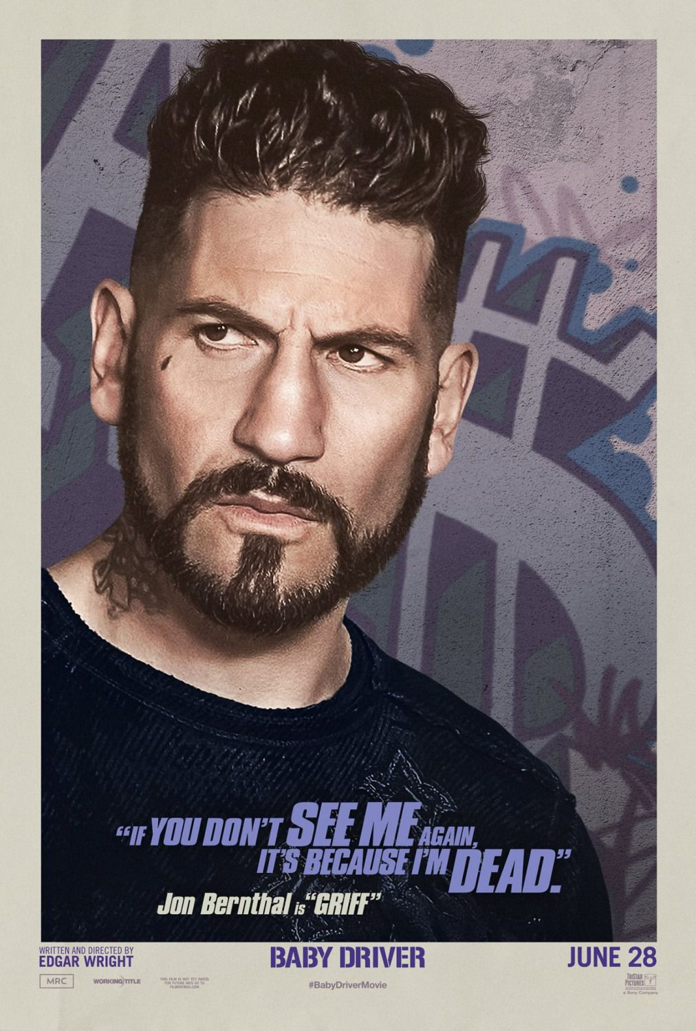 Baby Driver - Jon Bernthal is Griff