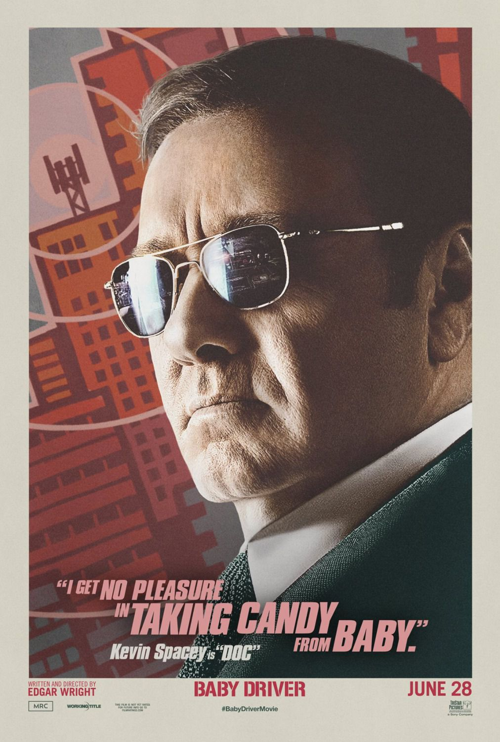 Baby Driver - Kevin Spacey is Doc