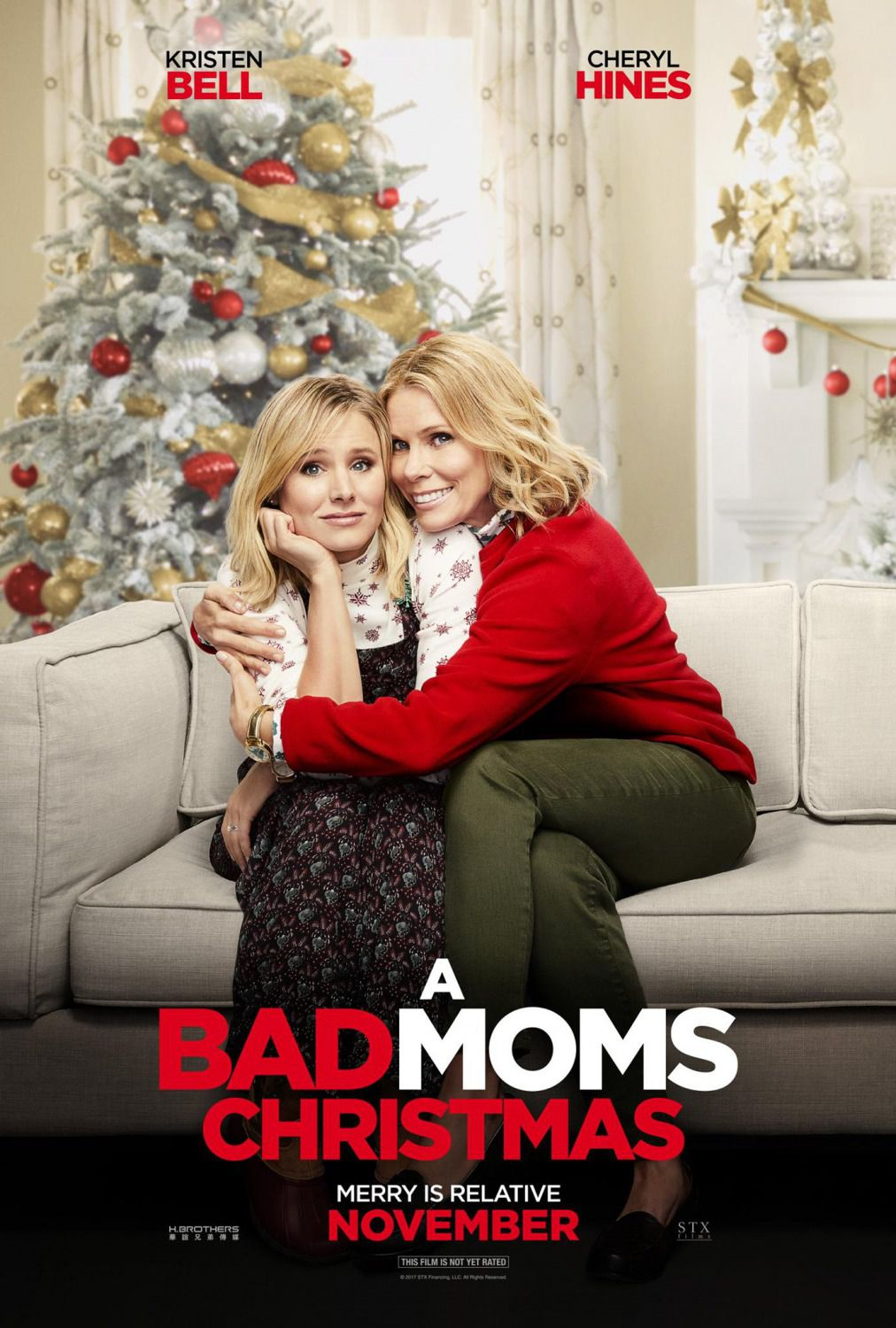 Bad Moms Christmas - Bad Moms 2 – Mamme molto più cattive - film poster - Kristen Bell - Cheryl Hines