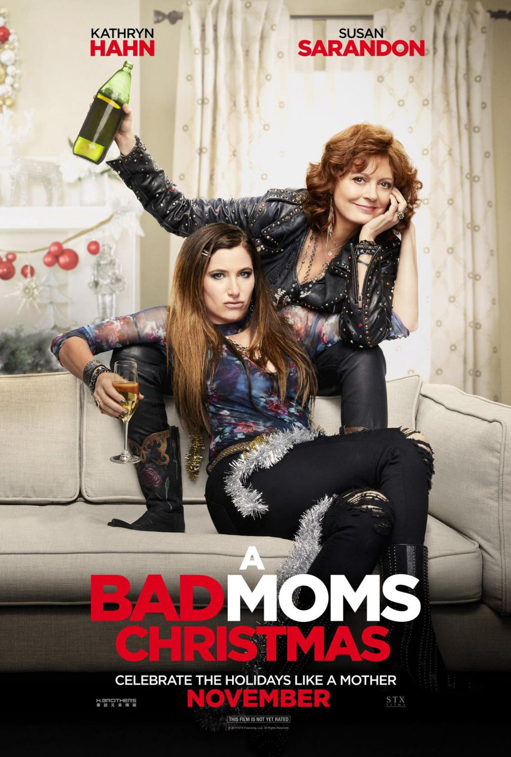 Bad Moms Christmas - Bad Moms 2 – Mamme molto più cattive - film poster - Kathryn Hahn - Susan Sarandon
