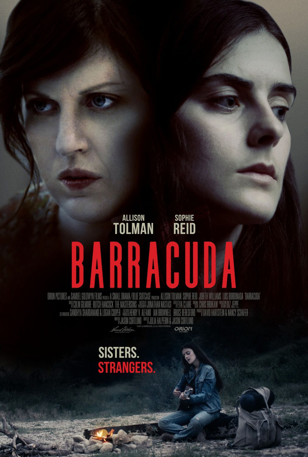 Barracuda - Sophie Reid - Allison Tolman - JoBeth Williams - Luis Bordonada - film poster