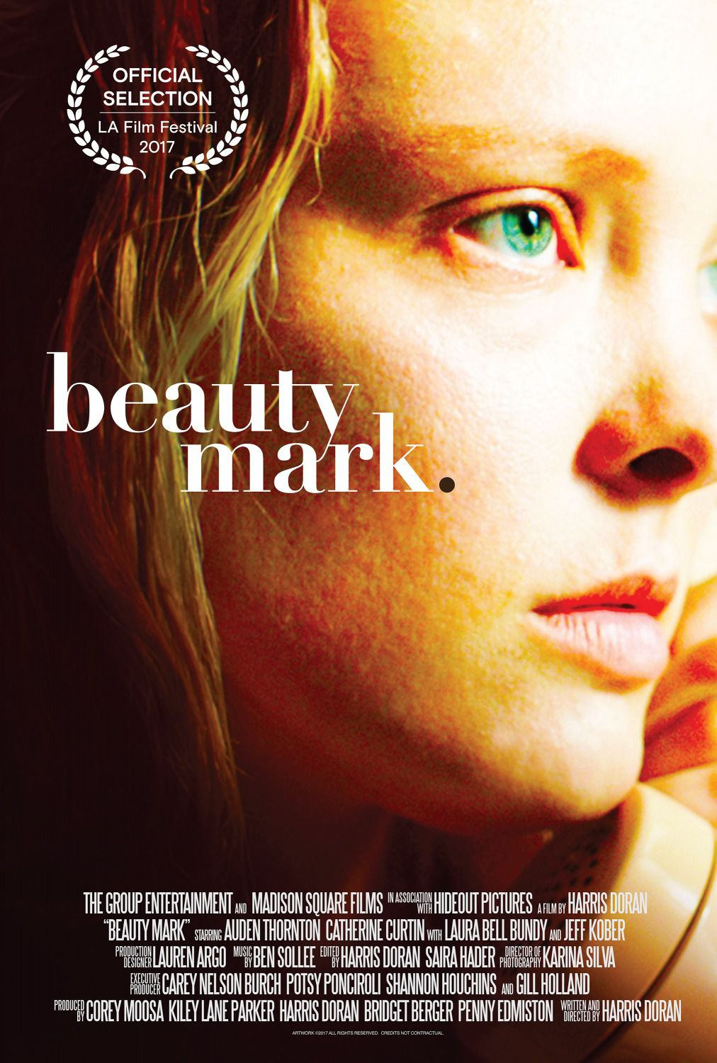 Beauty Mark - poster - Auden Thornton - Caterine Curtin - Laura Bell Bundy - Jeff Kober