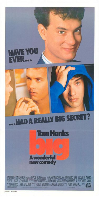 BIG poster - Tom Hanks