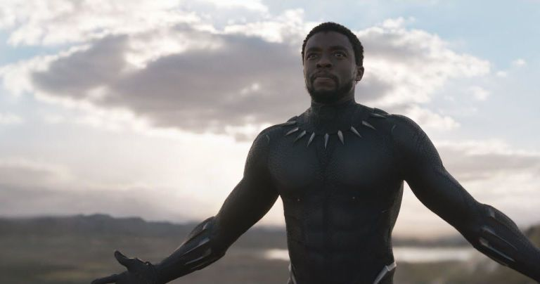 Black Panther - Marvel Super film live action - Chadwick Boseman