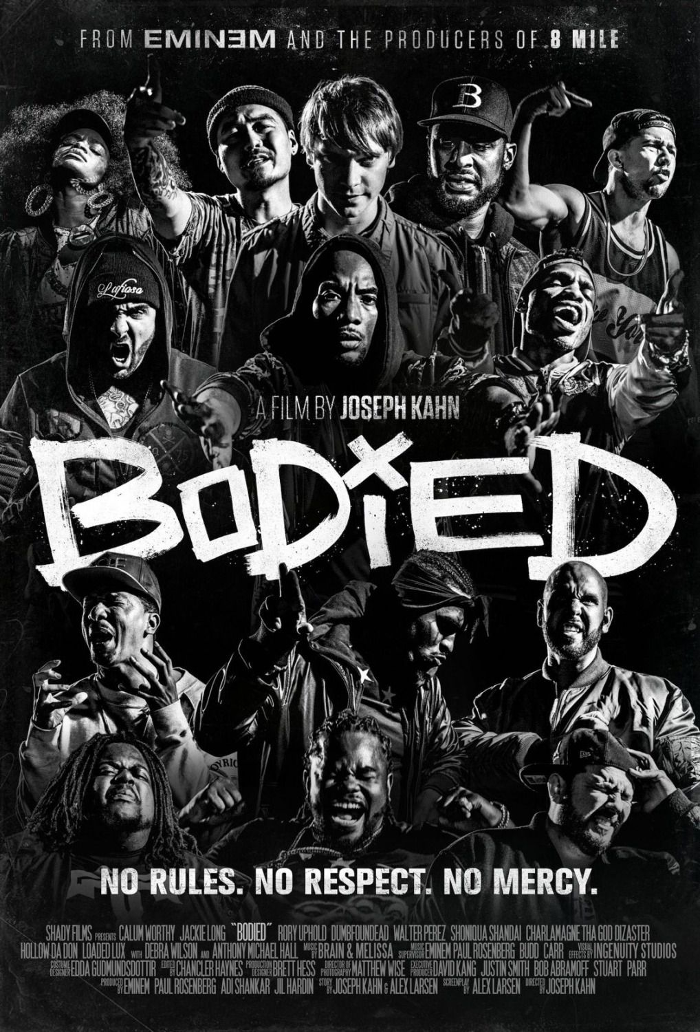 Bodied - poster film by Joseph Kahn - Eminem - Rap Battle