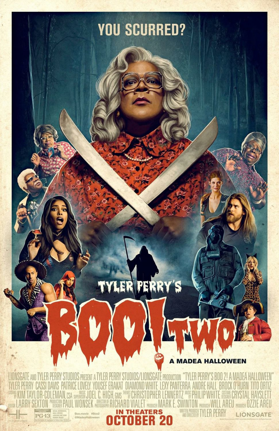 Tyler Perry's Boo 2 a Madea Halloween - You Scurred? - Cassi Davis - Patrice Lovely - Yousef Erakat - Diamond White - Lexy Panterra - Andre Hall - Brock O'Hurn - Tito Ortiz