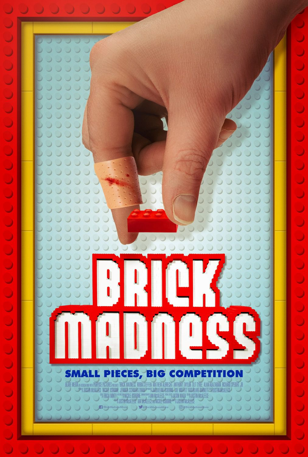 Brick Madness - Small Pieces Big Competition - film poster