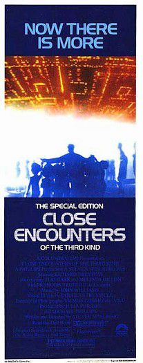 Close encounters of the third kind - Incontri ravvicinati del 3 tipo - 1977 - original film poster