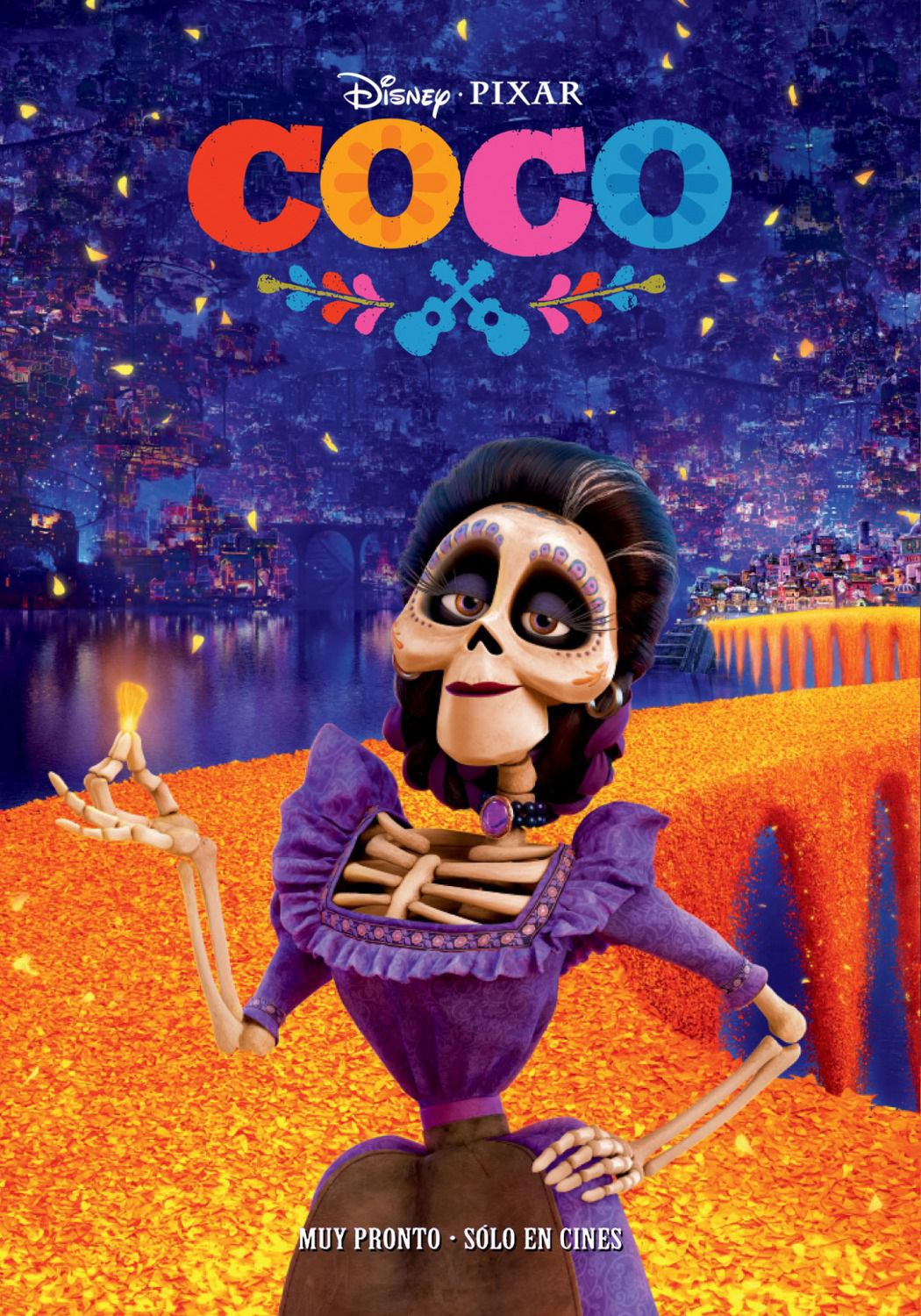 Coco -  Disney Pixar animated film poster