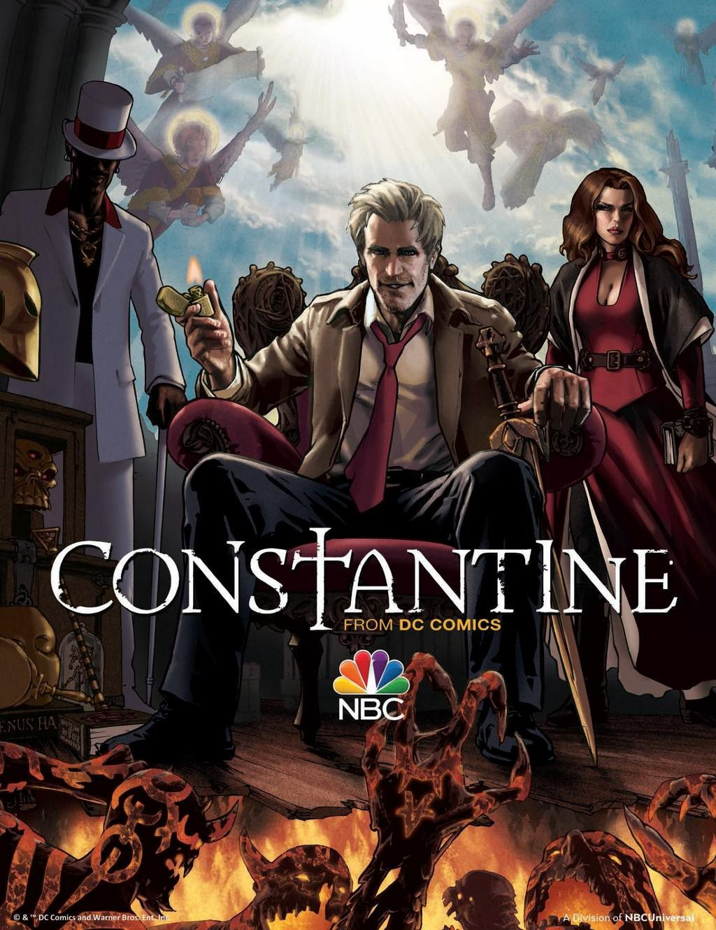 Constantine - Series TV - from DC Comics