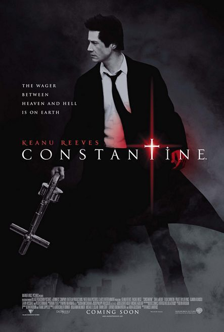 Constantine con Keanu Reeves - film poster