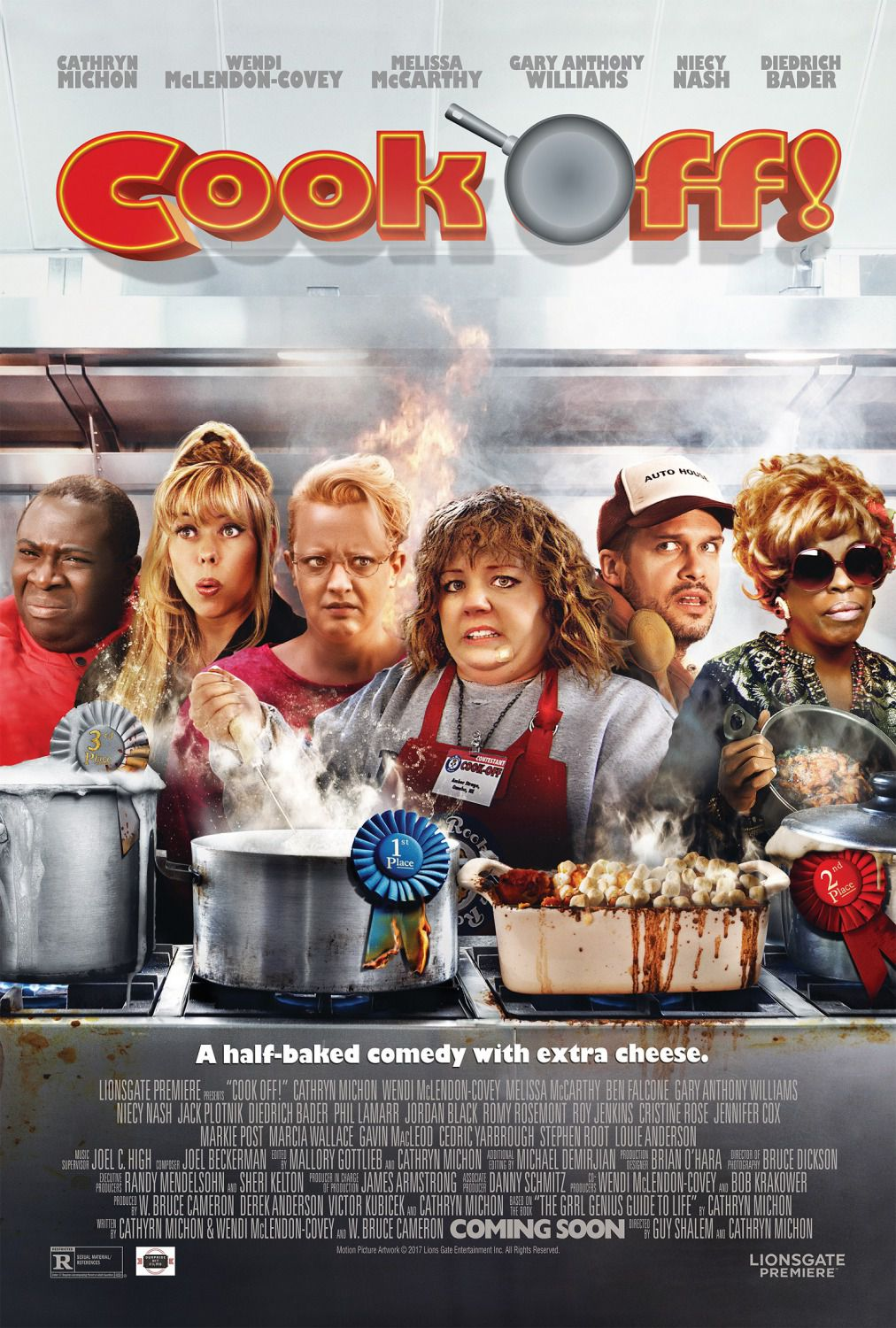 Cook Off - Melissa McCarthy - Ben Falcone - Stephen Root - Diedrich Bader - Wendy McLendon-Covey - Gary Anthony Williams - Sam Pancake - Cathryn Michon - Niecy Nash - film poster