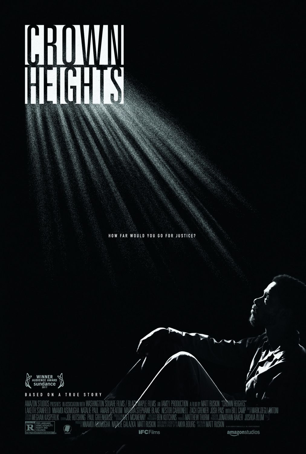 Crown Heights - Keith Stanfield - Nnamdi Asomugha - Natalie Paul - Bill Camp - film poster