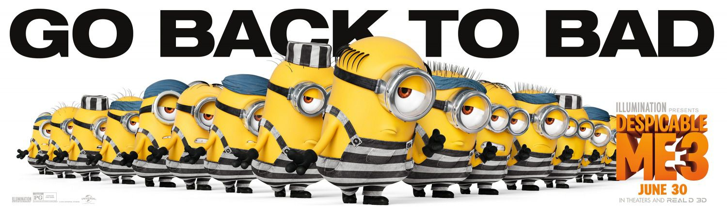 Minions go back to bad