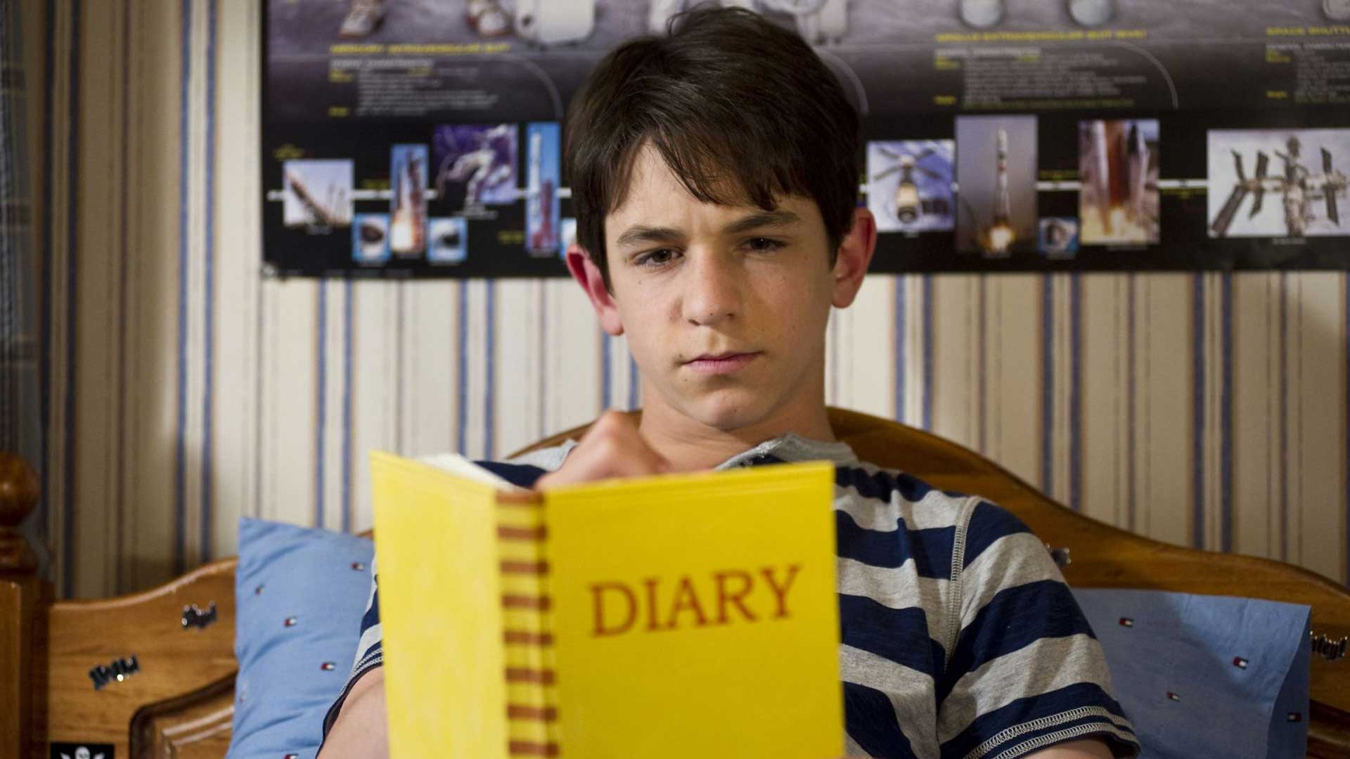 Diary of a Wimpy Kid 3 - Dog Days - Diario di una Schiappa 3 - Vita da Cani - Yellow Diary