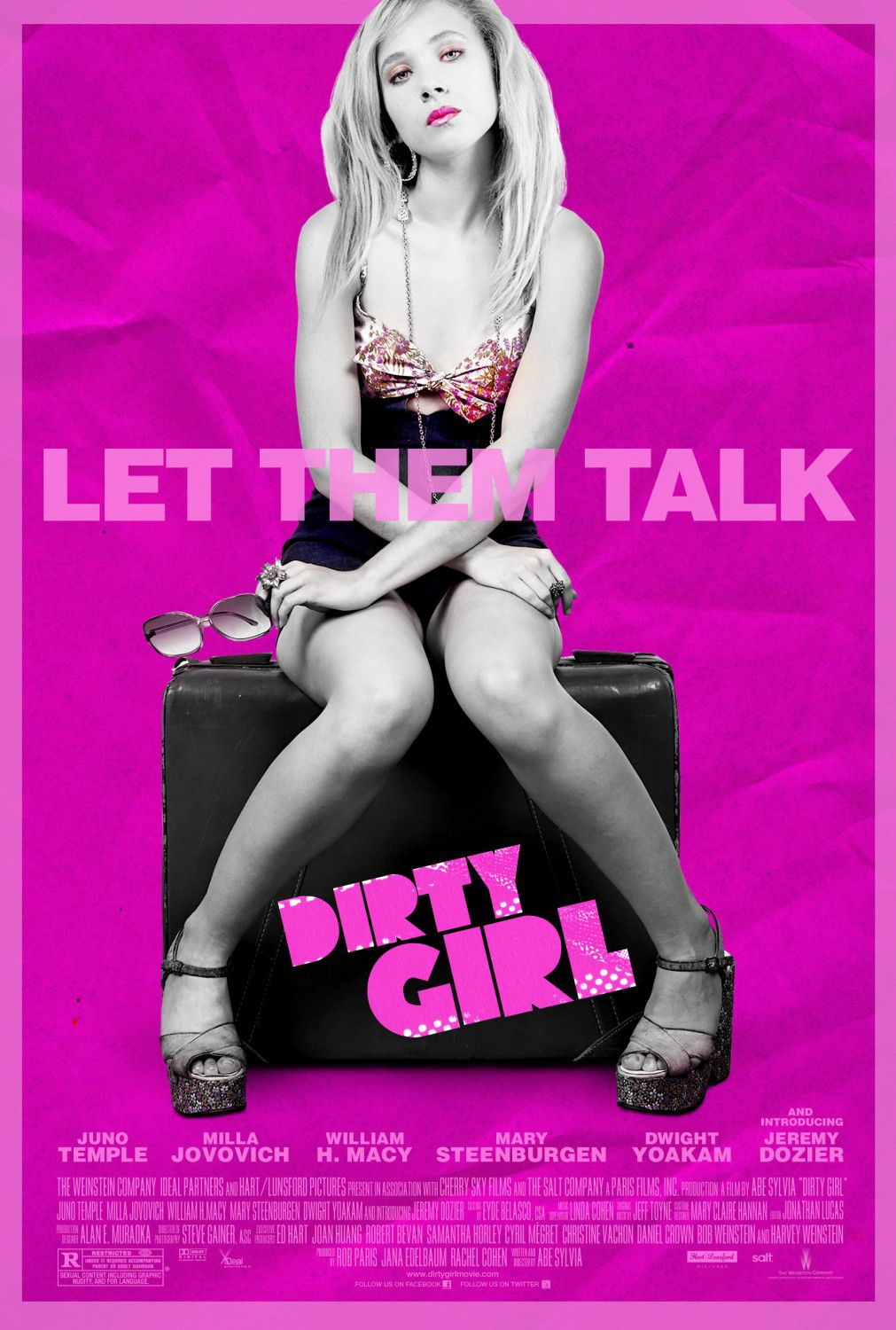 Dirty Girl - let them talk - film poster