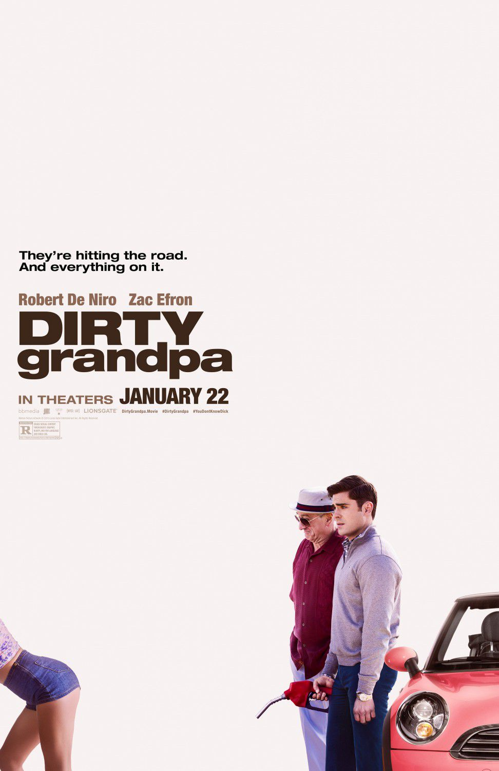 Dirty Grandpa - film comedy poster