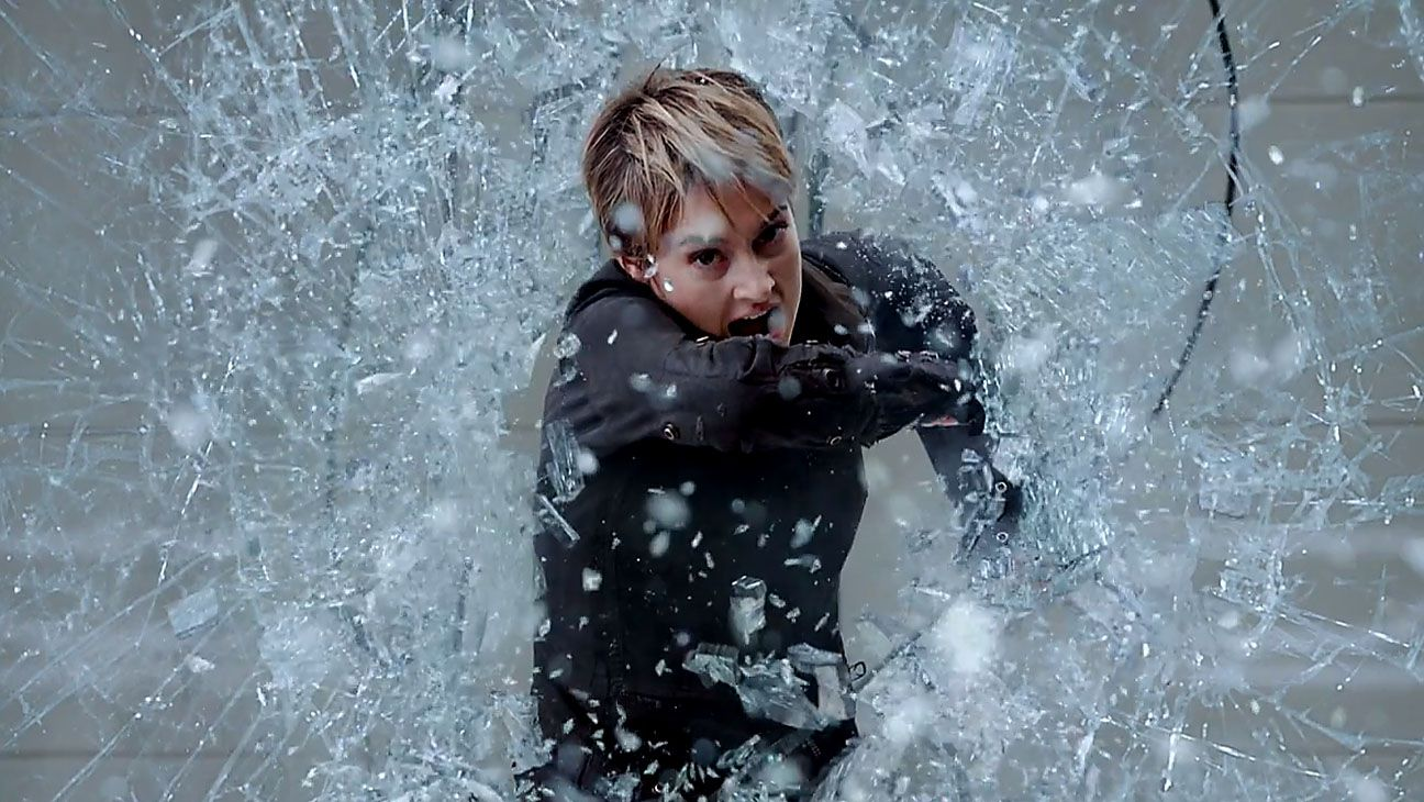 Divergent 2 - Insurgent - window