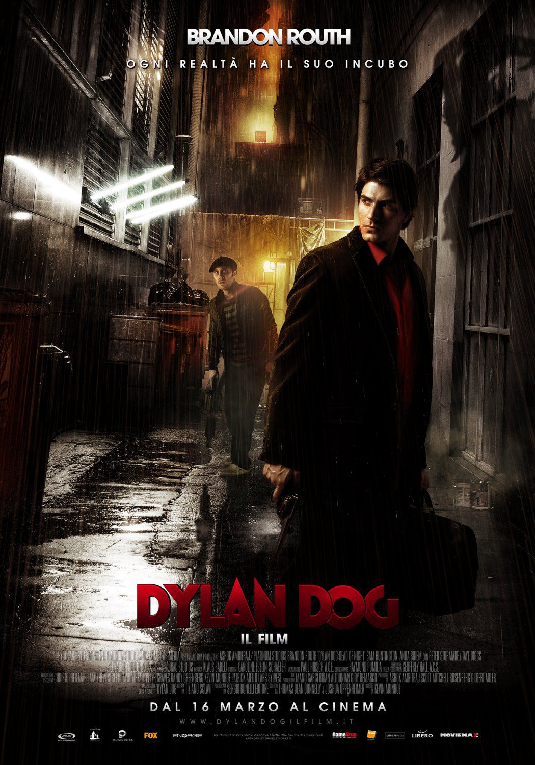 Dylan Dog Dead of Night - live action film poster