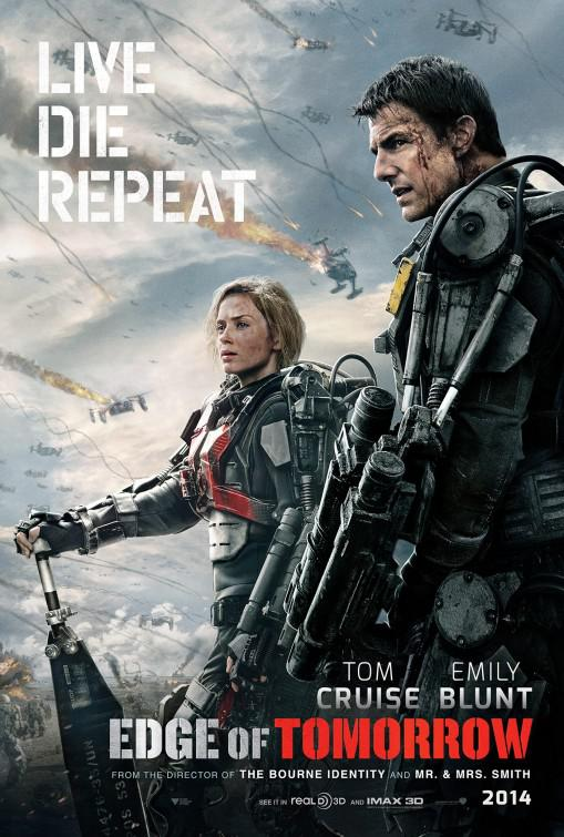 Edge of Tomorrow - Senza Domani ... un film di fantascienza con Tom Cruise
