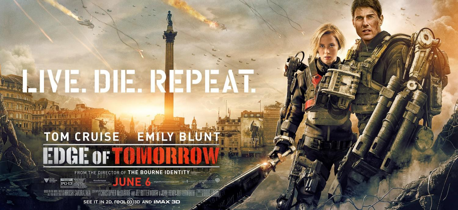 Edge of Tomorrow - Senza Domani - film poster