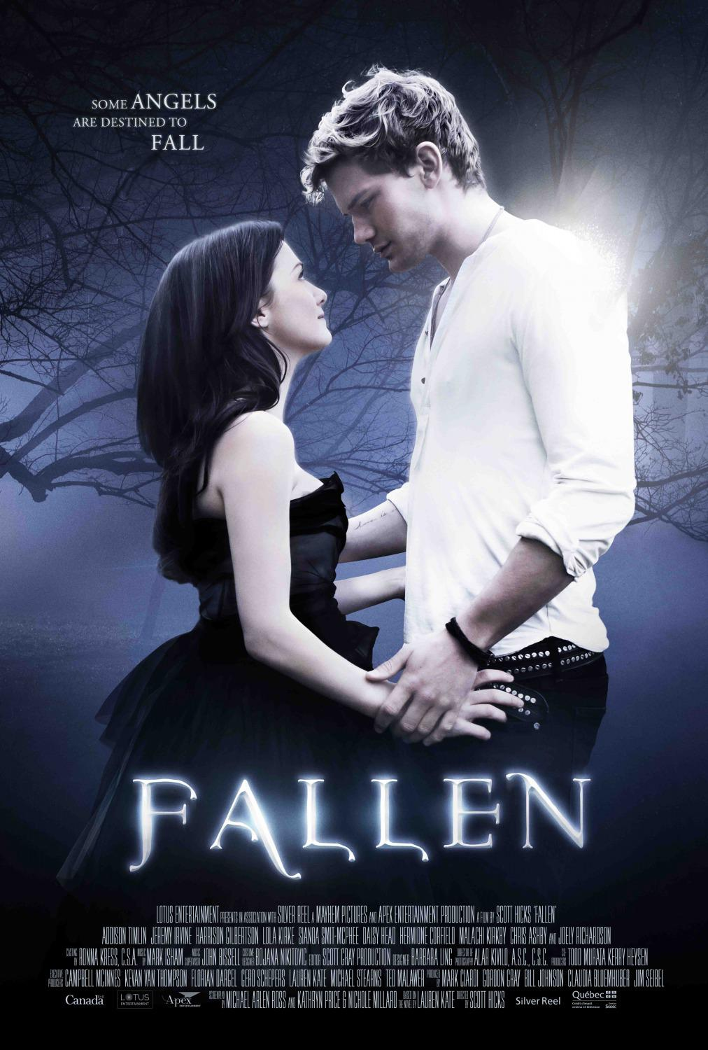 Film - Fallen - poster - some Angels are destined to fall