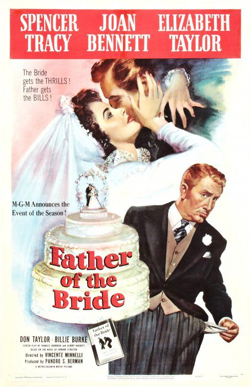 Father of the Bride - il Padre della Sposa - classic 1950