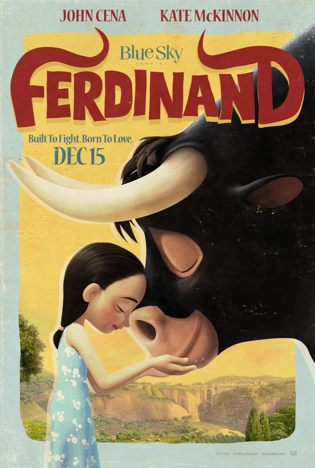 Ferdinand - animated movie poster