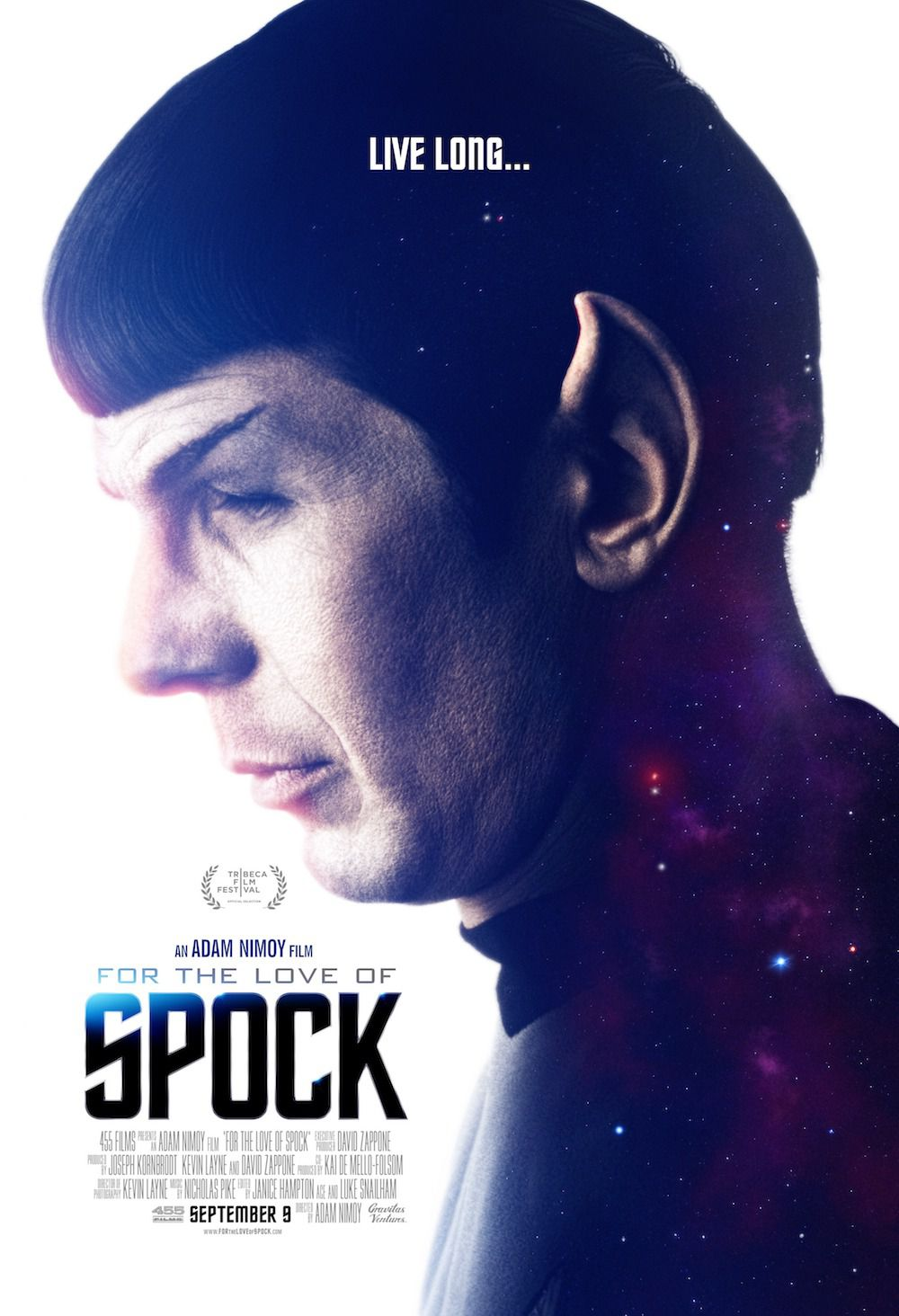 For the Love of Spock - Leonard Nimoy docu film poster